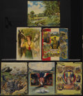 """Movie Posters:War, World War I Lot (Various, 1912-1918). Posters (6) (19"""" X 20"""").Patriotic.... (Total: 6 Items)"""