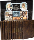 Movie/TV Memorabilia:Memorabilia, Roy Thinnes Set of Leatherbound Scripts with Notations. Set of 11leatherbound scripts for feature films and made-for-TV mov...(Total: 1 Item)
