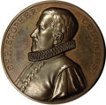 Expositions and Fairs, Christopher Columbus Bronze Medal....