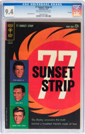 Silver Age (1956-1969):Miscellaneous, 77 Sunset Strip #2 File Copy (Dell/Gold Key, 1963) CGC NM 9.4 Off-white to white pages....
