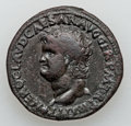 Ancients:Roman Imperial, Ancients: Nero (AD 54-68). Æ as (10.52 gm)....