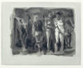 Fine Art - Work on Paper:Print, ERIC FISCHL (American, b. 1948). Shower, 1987. Soft-ground etching and aquatint. 15-1/2 x 19-1/2 inches (39.4 x 49.5 cm)...