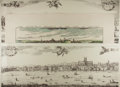 Art:Illustration Art - Mainstream, [Prints]. Group of Three River Landscape Prints. Printed by PRTOffset Limited England. N.d. Largest measures 39 x 16.25 inc...