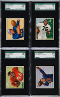 Football Cards:Sets, 1950 Bowman Football Near Set (132/144). ...