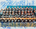 Football Collectibles:Photos, 1966 Green Bay Packers Team Signed Photograph - Super Bowl I Team....