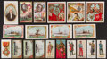 "Non-Sport Cards:Lots, 1880's-1900's Kinney, Allen & Ginter, Miller & Sons ""T"" and""N"" Tobacco Card Collection (74) - Military/Political Theme. ..."