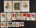 Non-Sport Cards:Lots, 1910'S Nebo, BVD, Zira, Sovereign Multi-Theme Silks Collection(57). ...