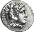 Ancients:Greek, Ancients: MACEDONIAN KINGDOM. Alexander III the Great (336-323 BC).AR tetradrachm (29mm, 17.22 gm, 2h). ...