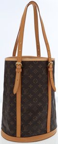 Luxury Accessories:Bags, Louis Vuitton Classic Monogram Canvas Bucket GM Bag. ...