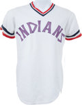 Baseball Collectibles:Uniforms, 1974 Rico Carty Game Worn Cleveland Indians Jersey....