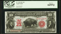 Large Size:Legal Tender Notes, Fr. 120 $10 1901 Legal Tender PCGS Gem New 66PPQ.. ...