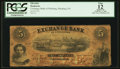 Obsoletes By State:Pennsylvania, Pittsburgh, PA- Exchange Bank $5 Oct. 1, 1859 G12a Hoober 312-58 . ...