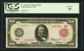 Large Size:Federal Reserve Notes, Fr. 1019b $50 1914 Red Seal Federal Reserve Note PCGS Very Fine 20.. ...