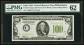 Small Size:Federal Reserve Notes, Fr. 2152-C $100 1934 Light Green Seal Federal Reserve Note. PMG Uncirculated 62.. ...
