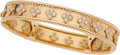 Estate Jewelry:Bracelets, Van Cleef & Arpels Diamond, Gold Bracelet. ...