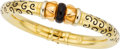 Estate Jewelry:Bracelets, Soho Enamel, Gold Bracelet. ...