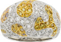 Estate Jewelry:Rings, Aron Suley Diamond, Gold Ring. ...