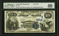 National Bank Notes:Kentucky, Louisville, KY - $10 1882 Date Back Fr. 545 The NB of Kentucky Ch.# (S)5312. ...