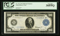 Large Size:Federal Reserve Notes, Fr. 1131 $100 1914 Federal Reserve Note PCGS Very Fine 30PPQ.. ...