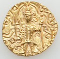 Ancients:Oriental, Ancients: INDIA. Kushan Empire. Vasudeva II (ca. AD 290-310). AV dinar (7.83 gm). ...