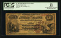 National Bank Notes:Tennessee, Harriman, TN - $10 1882 Brown Back Fr. 484 The First NB Ch. # 4501. ...