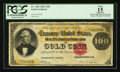 Large Size:Gold Certificates, Fr. 1206 $100 1882 Gold Certificate PCGS Apparent Fine 15.. ...
