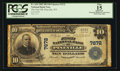 National Bank Notes:West Virginia, Pineville, WV - $10 1902 Plain Back Fr. 624 The First NB Ch. #7672. ...
