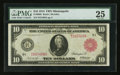 Fr. 900b $10 1914 Red Seal Federal Reserve Note PMG Very Fine 25