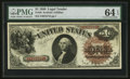 Large Size:Legal Tender Notes, Fr. 28 $1 1880 Legal Tender PMG Choice Uncirculated 64 EPQ.. ...