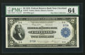 Fr. 757 $2 1918 Federal Reserve Bank Note PMG Choice Uncirculated 64