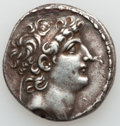 Ancients:Greek, Ancients: SELEUCID KINGDOM. Antiochus VIII Epiphanes (121/0-97/6BC). AR tetradrachm (16.42 gm)....