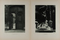 Art:Illustration Art - Mainstream, [Lithography]. Group of Two Photolithographs. N.d. Light toning.Marks to edges from previous binding. Good to better....