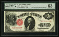 Large Size:Legal Tender Notes, Fr. 37a $1 1917 Legal Tender PMG Choice Uncirculated 63.. ...