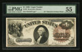 Large Size:Legal Tender Notes, Fr. 32 $1 1880 Legal Tender PMG About Uncirculated 55.. ...