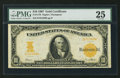 Large Size:Gold Certificates, Fr. 1170 $10 1907 Gold Certificate PMG Very Fine 25.. ...