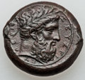 Ancients:Greek, Ancients: SICILY. Syracuse. Timoleon (343-338 BC). Æ hemilitron(14.09 gm)....