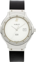 "Estate Jewelry:Watches, Hublot Lady's Stainless Steel ""MDM Classic"" Wristwatch. ..."
