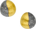 Estate Jewelry:Earrings, Yossi Harari Diamond, Gold, Silver Earrings. ...
