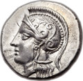Ancients:Greek, Ancients: CRETE. Itanus. Ca. 330-270 BC. AR drachm (20mm, 5.47 gm, 12h). ...