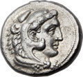 Ancients:Greek, Ancients: MACEDONIAN KINGDOM. Alexander III the Great (336-323BC).  AR tetradrachm (27mm, 17.16 gm, 11h)....