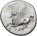Ancients:Greek, Ancients: ACARNANIA. Thyrrheium. Ca. 320-280 BC. AR stater (23mm,8.64 gm, 6h). ...