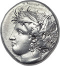 Ancients:Greek, Ancients: LOCRIS. Locris Opuntii. Ca. 369-338 BC. AR stater (23mm,12.09 gm, 12h)....