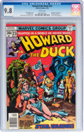 Bronze Age (1970-1979):Cartoon Character, Howard the Duck #23 (Marvel, 1978) CGC NM/MT 9.8 White pages....