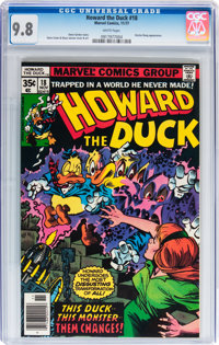 Howard the Duck #18 (Marvel, 1977) CGC NM/MT 9.8 White pages