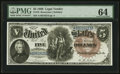 Large Size:Legal Tender Notes, Fr. 78 $5 1880 Legal Tender PMG Choice Uncirculated 64.. ...