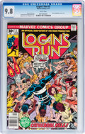 Bronze Age (1970-1979):Adventure, Logan's Run #2 (Marvel, 1977) CGC NM/MT 9.8 White pages....