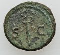 Ancients:Roman Imperial, Ancients: Augustus (27 BC - AD 14) - Anonymous (time of Domitian). Lot of four (4) Æ quadrantes and ases.... (Total: 4 coins)