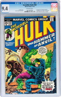 The Incredible Hulk #182 (Marvel, 1974) CGC NM 9.4 Off-white pages