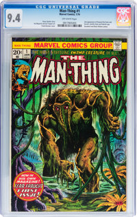 Man-Thing #1 (Marvel, 1974) CGC NM 9.4 Off-white pages