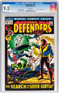 The Defenders #1 and 2 CGC-Graded Group (Marvel, 1972).... (Total: 2 Comic Books)